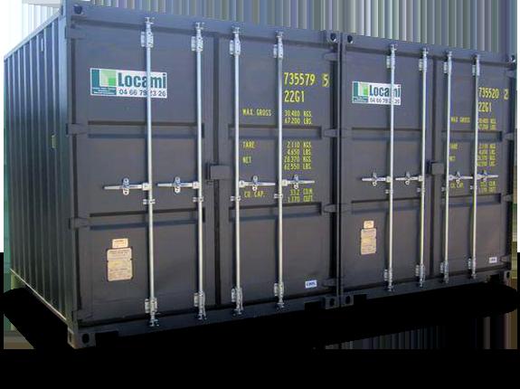 Container 20 pieds, stockage de votre matériel en sécurité