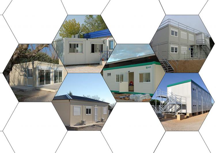 bâtiments modulables