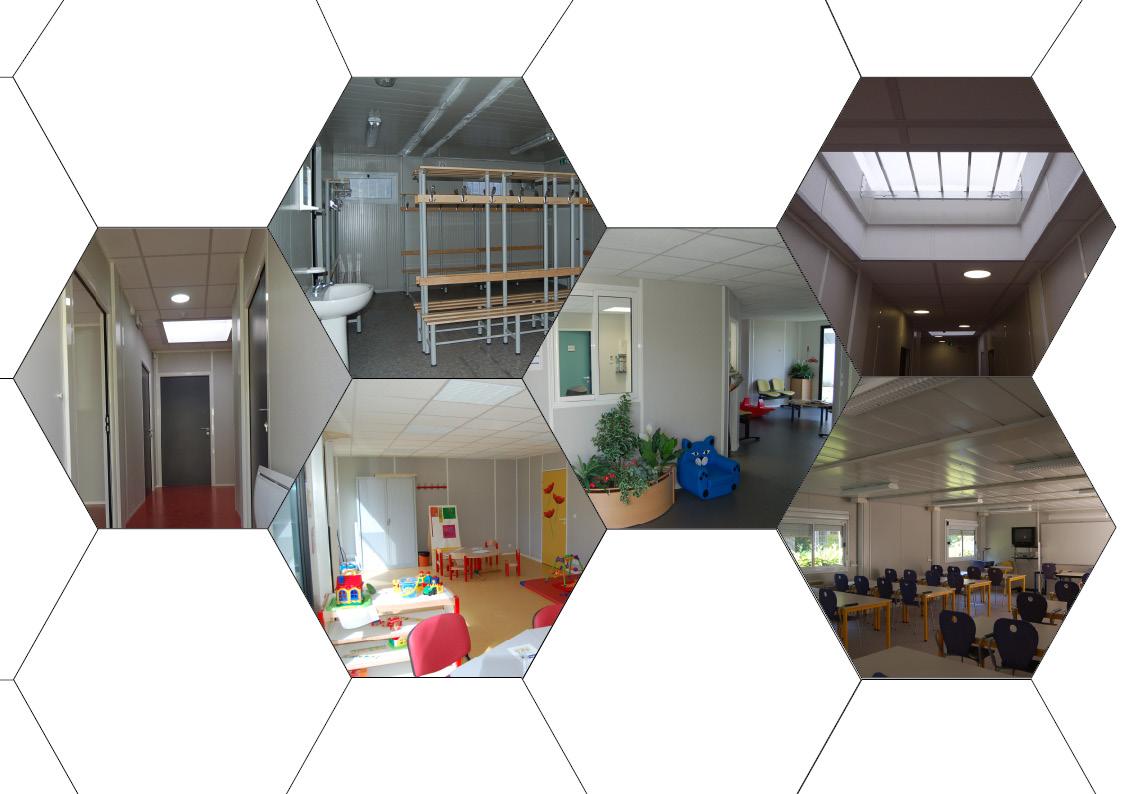 Aménagement intérieur de vos batiments modulaires, bungalow sanitaire, bureaux